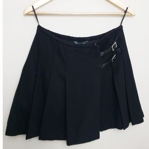 Banana Republic Factory Black Wool Skirt 004